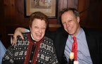 The author, Steven Petrow, and his mother Margot, on her 75th birthday. Photo courtesy of Steven Petrow