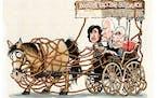 Sack cartoon: Booster vaccine guidance