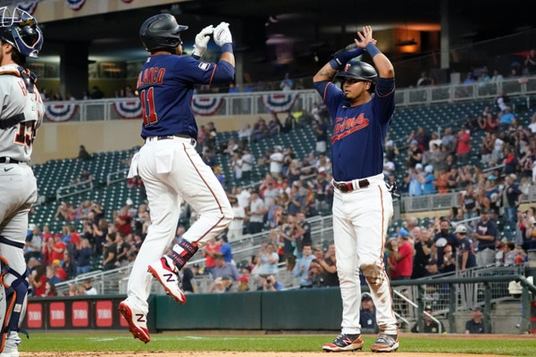 Polanco's quick home run sparks Twins to 5-2 victory over Detroit