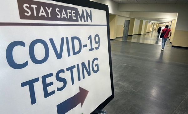 COVID-19 testing is offered at Roy Wilkins Auditorium in St. Paul.
