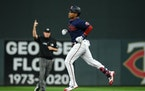 Jorge Polanco homered for the Twins in their victory on Tuesday at Target Field.