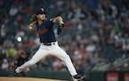 Twins starter Joe Ryan left Thursday's game against the Tigers after 4⅔ innings and allowing six runs.