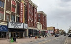 The Paramount Center for the Arts in St. Cloud.
