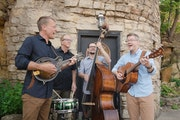 Brian Wicklund, left, formed theBarleyJacksafter many years serving as a sideman to other bluegrass singers.