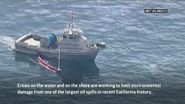 Massive cleanup begins after California oil spill