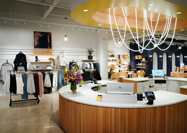 Evereve has opened a new flagship store at 50th and France with double the sales space.