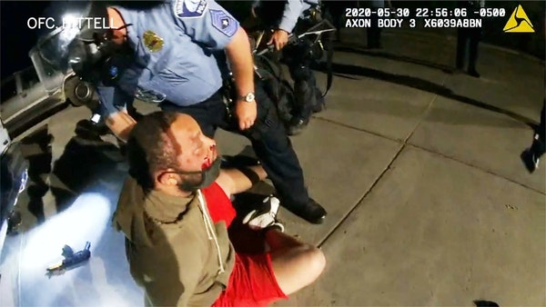 Body camera video shows beating of man who said he mistakenly shot at Minneapolis police during George Floyd unrest