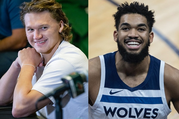 Thinking about Kirill Kaprizov and Karl-Anthony Towns in early October? Yep, and that's a good sign for colder months to come.