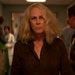 """Jamie Lee Curtis is back to try to finish off Michael Myers, again, in """"Halloween Kills."""""""