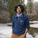 ALEX KORMANN • alex.kormann@startribune.com Emily Ford posed for a portrait outside Glensheen Mansion in Duluth, where she works as the head gardene