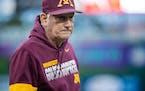 Gophers baseball coach John Anderson