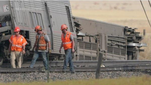 Amtrak passenger describes Montana derailment