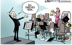 Editorial cartoon: Lisa Benson on unity