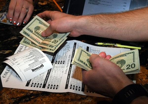 Scenes from sportsbooks in Las Vegas could one day play out in Minnesota — but not anytime soon.