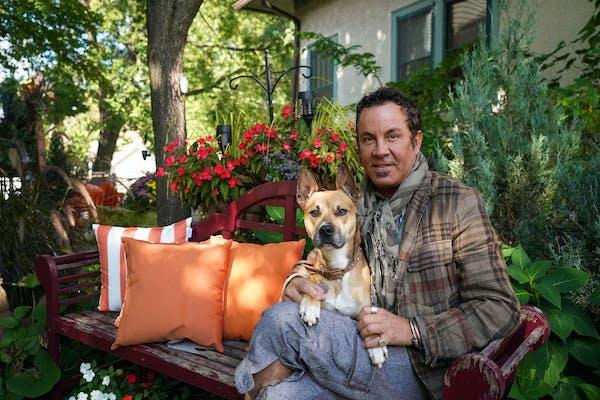 Richard Anderson and his companion Angel were photographed at his Minneapolis home.     ]  Shari L. Gross • shari.gross@startribune.com  Richa