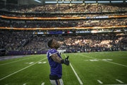 Patrick Peterson and the Vikings better be in a winning mood again Sunday against Detroit.