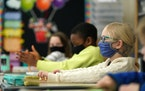 More than 280 Iron Range parents have sued the Rock Ridge school district for its mask mandate. ANTHONY SOUFFLE • anthony.souffle@startribune.com