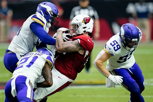 Ex-Gophers tight end Williams having breakout season for 4-0 Cardinals