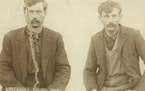 Lynched in glencoe Dorman Musgrove, left, and Henry Cingmars were hanged by a mob from a Glencoe bridge in 1896 after the first trial in the shooting
