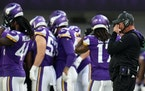 """After beating the Lions, Vikings coach Mike Zimmer said, """"It wasn't the prettiest of wins, but it was a win and we'll take it.''"""