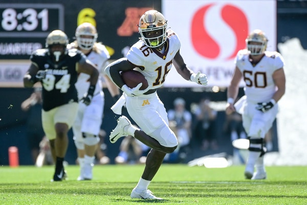 Gophers wide receiver Dylan Wright missed the Oct. 2 game at Purdue, but he will be available to play against Nebraska on Saturday.