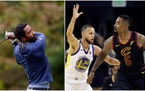 After 16 seasons in the NBA, J.R. Smith (far right, shown playing with the Cavaliers in 2018) is back in college — and playing for the North Carolin