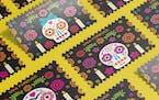 U.S. stamps by Minneapolis artist celebrate Día de los Muertos