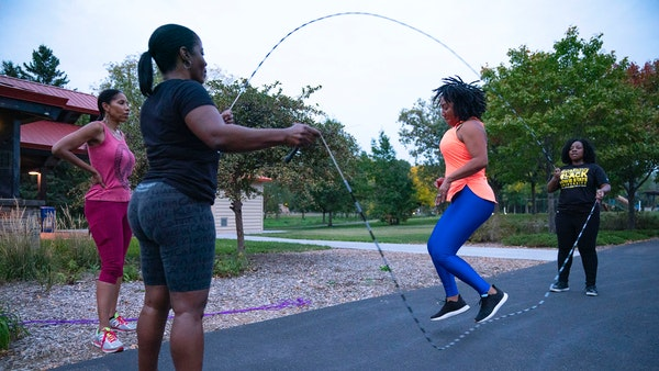 Rediscovering the double Dutch jump ropes of their youth