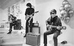"""Moe Tucker, John Cale, Sterling Morrison and Lou Reed in the documentary """"The Velvet Underground."""""""
