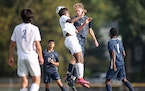 Blake and St. Paul Academy clashed in an early October game. The SPA boys are ranked No. 1 in Class 1A.