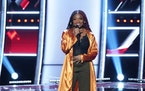 """Libianca, a 20-year-old Minneapolis singer, has moved forward on """"The Voice."""""""