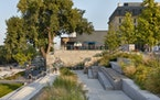 """The new Water Works Park and Pavilion offers a """"front porch"""" on the Mississippi River in Minneapolis"""
