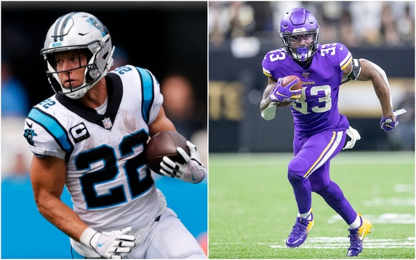 Cook and McCaffrey, standouts from 2017 draft, await first NFL meeting