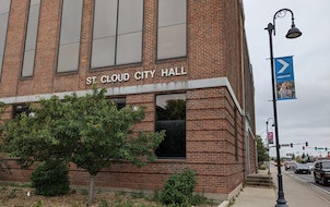 St. Cloud City Hall will be replaced by a Bremer Bank, with a parcel on the western side being used for a cafe or restaurant.