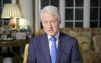 In this image from video, former President Bill Clinton speaks during the second night of the Democratic National Convention on Tuesday, Aug. 18, 2020