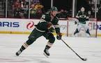The Wild's Brandon Duhaime will make his NHL debut Friday night against the Ducks.