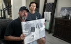David and Wendy Mills at home in Spring, Texas. Their daughter Kailee Mills was killed four years ago in an automobile accident.