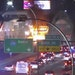 The flames from the crash were visible to MnDOT traffic camera on Interstate 35W near Lake Street on Saturday night.