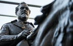 The 1935 statue of Confederate Gen. Robert E. Lee, by sculptor Alexander Phimister, which the city of Dallas removed from a park and later sold in an
