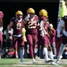 The Gophers defense celebrated after stopping a Nebraska fourth down attempt in the third quarter.