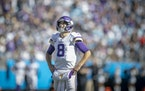 """""""We would walk through our two-minute [drill] in such detail all August,"""" Vikings quarterback Kirk Cousins said, """"and I think some of that detai"""