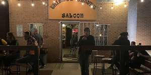 Mick Jagger went incognito to the Thirsty Beaver Saloon before the Rolling Stones' concert in Charlotte, N.C., last month.