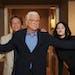 Martin Short, left, Steve Martin and Selena Gomez