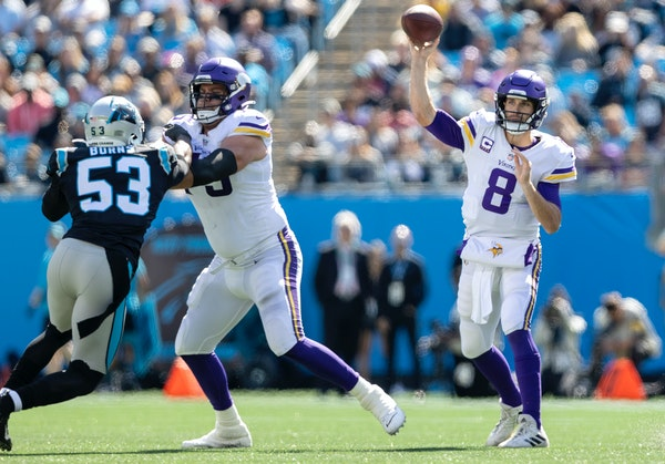 The Vikings and quarterback Kirk Cousins rank third in the NFC in total offense.