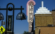 The Edina Cinema, at 50th and France, went dark during the pandemic. Bloomington-based Mann Theatres is preparing to sign a lease to reopen it.