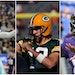 Dak Prescott of the Cowboys, Aaron Rodgers of the Packers and Lamar Jackson of the Ravens will test the Vikings defense.