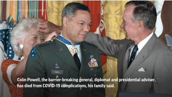 Colin Powell remembered as patriot and statesman