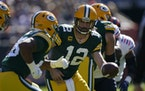 Packers quarterback Aaron Rodgers beat the Bears again on Sunday.