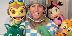 """Matt Ouren plays Jack the Scarecrow in """"The Spookley Halloween Show!"""""""