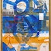 1-David Feinberg Road to Burundi, 2006 Acrylic, collage on canvas, 52 x 44 in. Collaborative work with drawing contributions from Rwandan survivor Ali